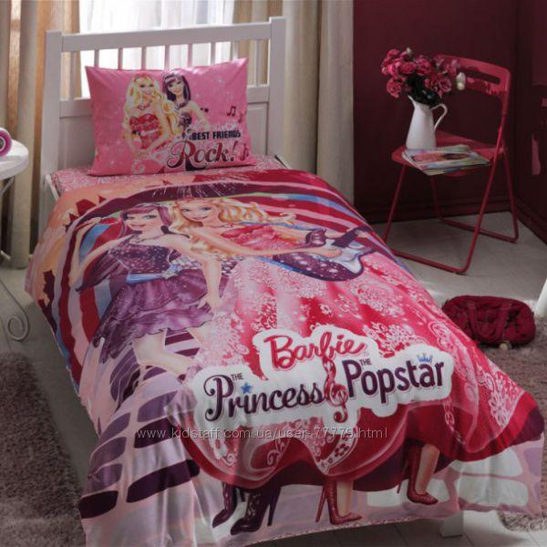 Детское постельное белье TAC Barbie Princess Popstar