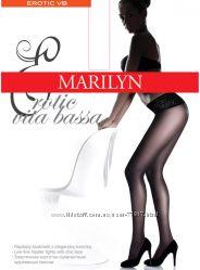 Колготки с кружевным поясом Marilyn Erotic 15, 30 и 100 ден  Чулки