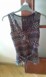 Шелковая нарядная блуза, Monton, разм. S M