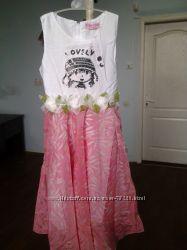 Летнее платье для девочки 9 лет