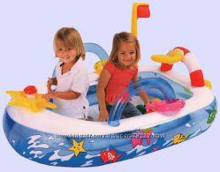 Игровой надувной центр 48660 мореход - сухой бассейн распродажа