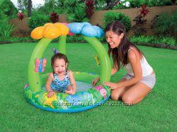 Бассейн с навесом Цветы джунглей 57419 INTEX распродажа