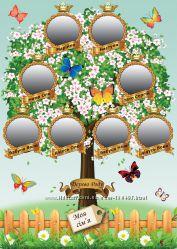 Генеалогическое дерево из фотографий