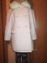 Пальто для дівчинки 110см