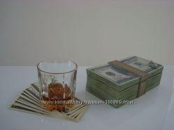Шкатулка для денег - купюрница