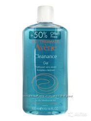 Avene Cleanance Gel очищающий гель для жирной и чувствительной кожи 300мл