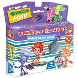Игра Магнитный Фикси-мир Фикси-предметы. Бесплатная доставка по Киеву
