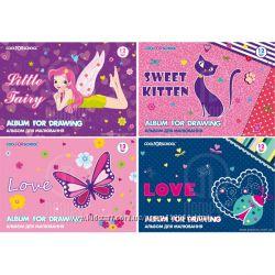 Альбом для рисования FOR GIRLS. Бесплатная доставка по Киеву