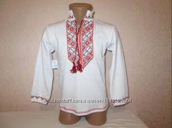 Новая блуза и рубашка Вышиванки вишиванка для девочек и мальчиков