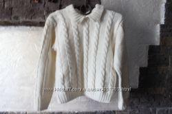 Шерстяной свитер в школу. Цену снизила.