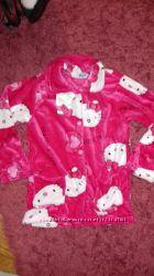 Очень теплая пижама для девочки