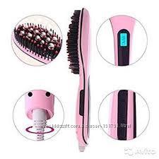 Расческа - выпрямитель для волос Fast Hair Straightener