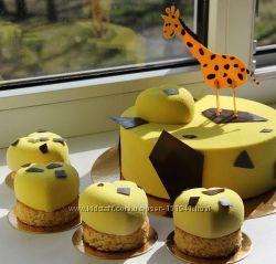 Детские торты, пирожные без мастики