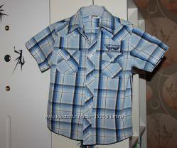 Рубашки на мальчика с коротким рукавом