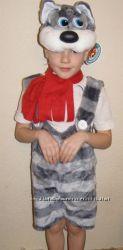 Карнавальные новогодние костюмы для детей Морозко Карлсон Санта