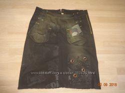 Стильная юбка, коттон стрейч, Турция на р. 44-46