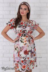 Утонченное платье для беременных Kayla из льна с вискозой Беспл. доставка