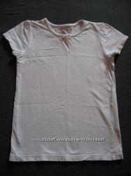 белая футболка Tu на 6 лет