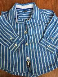 Крутые рубахи GAP и H&M 92см