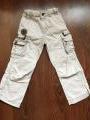 Летние светлые брюки 104см