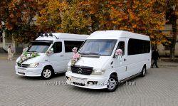 Микроавтобус, минивэн на свадьбу