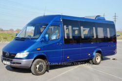 Заказ микроавтобуса на 20, 21, 22, 23 человека. Аренда автобуса.