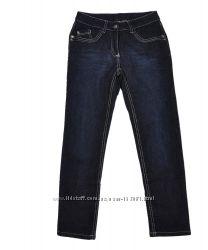 Pepperts утепленные джинсы скинни для девочки, рр. 134 и 140