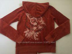 Кофта Juicy Couture S M Оригинал Новая Велюровая