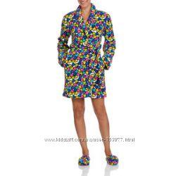 Женский плюшевый халат c тапками Body Candy Оригинал из США
