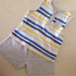 Летний комплект Mothercare майка и шортыпижама