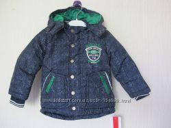 Новая фирменная зимняя куртка Kanz. Оригинал. Германия.  разм. 80-86см
