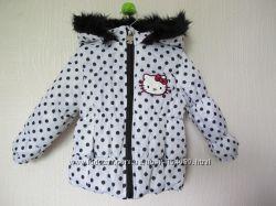 новая фирменная демисезонная куртка Hello Kitty на 18мес