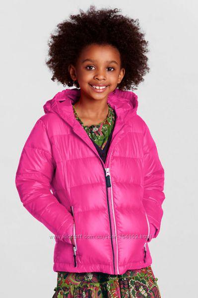 LANDS END Little Girls Down Puffer Jacket - наш сумний прольотик.