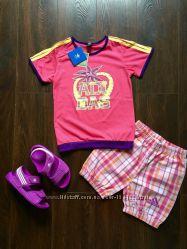 Новые летние костюмы Adidas для девочек