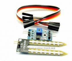 Датчик влажности почвы, гигрометр для систем Arduino