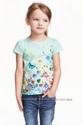 футболки  фирменные H&M, George, Oshkosh, Crazy8 по приятной цене