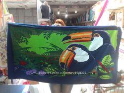Шикарные пляжные полотенца Турция Shamrock
