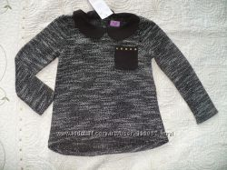 Красивая теплая блузка Tesco 2-3 года