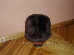 шапка мутон
