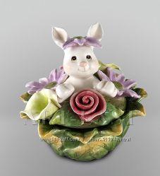 Шкатулка Кролик Pavone с элементами ручной работы
