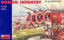 Солдатики 1х72 - наборы солдатиков фирмы MINI ART