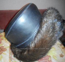 Зимняя натуральная новая шапка
