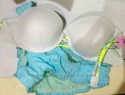 Купальник Victorias Secret бандо оригинал 34А, 34В, 32В, 34С, 36В, М, S