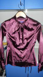 Атласная блуза Sela р. XS-S