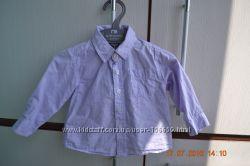Мягкая рубашечка Zara Baby 6-9 месяцев