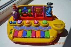 Пианино от Kiddieland Toy Зверята на качельках