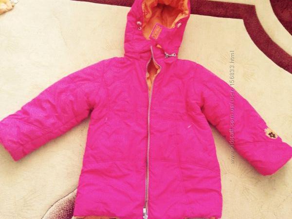 Зимова куртка Amadeo на 4 років 104 розмір