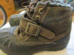 Термо-ботинки Тимберленд р. 28. 5