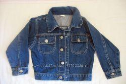 Пиджак джинсовый бу