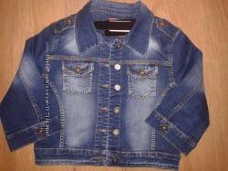 джинсовая куртка качественная на ог 85-88 см турция весна